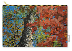 Birch Tree - Minister's Island Carry-all Pouch