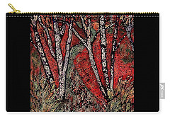 Birch Tree Mosaic Carry-all Pouch