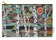 Birch Woods Carry-all Pouch by Karla Gerard