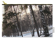 Birches And Firs Carry-all Pouch