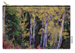 Birches At The Perch #1 Carry-all Pouch