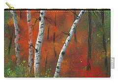 Birches II Carry-all Pouch
