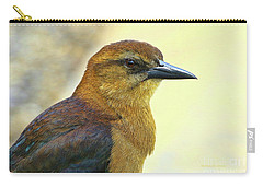 Carry-all Pouch featuring the photograph Bird Beauty by Deborah Benoit