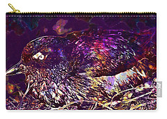 Bird Cassins Auklet Crested Birds  Carry-all Pouch