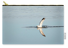 Bird Catching A Fish Carry-all Pouch
