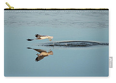 Bird Catching Fish For Breakfast  Carry-all Pouch
