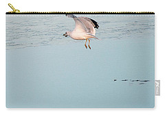 Bird Caught Fish Carry-all Pouch