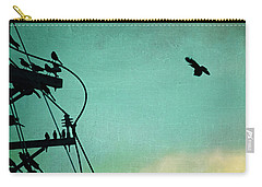 Carry-all Pouch featuring the photograph Bird City Revisited by Trish Mistric
