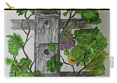 Bird Condo Carry-all Pouch by Jack G Brauer