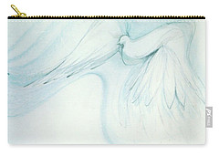 Bird In Flight Carry-all Pouch by Denise Fulmer