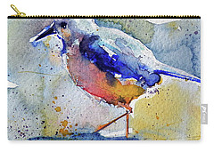 Bird In Lake Carry-all Pouch