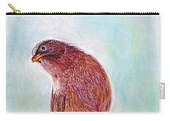 Carry-all Pouch featuring the painting Bird by Jasna Dragun