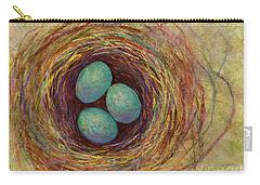 Bird Nest Carry-all Pouch by Hailey E Herrera