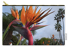 Bird Of Paradise Peace And Joy Carry-all Pouch