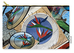 Bird Of Pardise Starling Saver Carry-all Pouch