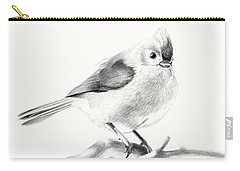 Bird On A Branch Carry-all Pouch