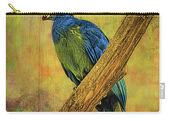 Bird On A Branch Carry-all Pouch by Lewis Mann