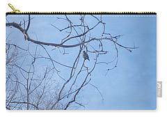 Carry-all Pouch featuring the photograph Bird On A Limb by Jewel Hengen