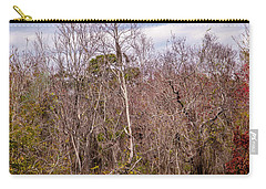 Carry-all Pouch featuring the photograph Bird Out On A Limb 3 by Madeline Ellis