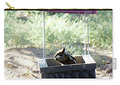 Bird Seed Thief Chipmunk Carry-all Pouch