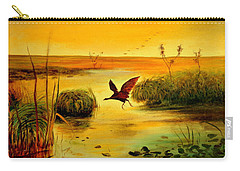 Bird Water Carry-all Pouch by Henryk Gorecki