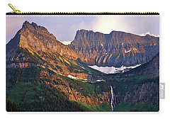 Bird Woman Falls Sunset Carry-all Pouch