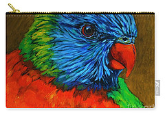 Birdie Birdie Carry-all Pouch by Alison Caltrider