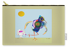 Birdie Carry-all Pouch by Iris Gelbart