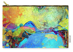 Carry-all Pouch featuring the painting Birdland by Dominic Piperata