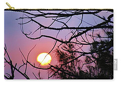 Birds At Sunset Carry-all Pouch by Craig Wood