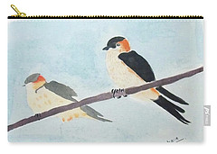 Birds Couple Carry-all Pouch