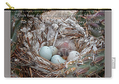 Birds Have Nests Carry-all Pouch