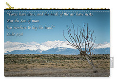 Birds Have Nests - Mountain Scene Carry-all Pouch