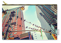 Birds In New York City Carry-all Pouch