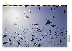 Carry-all Pouch featuring the photograph Birds by Lynn Geoffroy