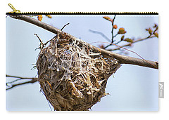 Carry-all Pouch featuring the photograph Birds Nest by Christina Rollo