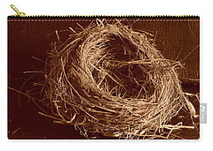 Bird's Nest Sepia Carry-all Pouch