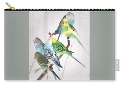 Birds Of A Feather Carry-all Pouch by Robin Regan