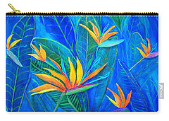Birds Of Paradise In Florida Carry-all Pouch