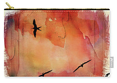 Birds Of Pedasi, In The Dry Arc Of Panama II Carry-all Pouch