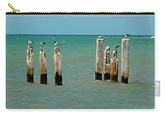 Birds On Sticks Carry-all Pouch