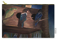 Birds Resting Carry-all Pouch