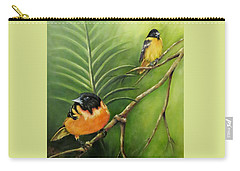 On The Lookout, Birds  Carry-all Pouch
