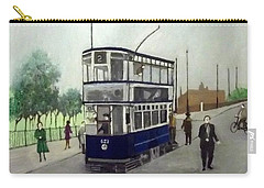Birmingham Tram With Figures Carry-all Pouch
