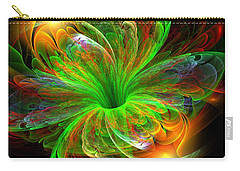 Carry-all Pouch featuring the digital art Birst Of Spring by Svetlana Nikolova