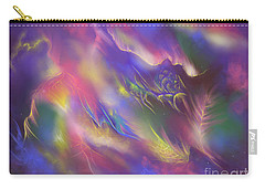 Carry-all Pouch featuring the digital art Birth Of The Phoenix by Amyla Silverflame
