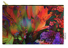 Birthday Flowers Carry-all Pouch