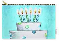 Birthday Glow Carry-all Pouch