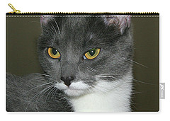 Carry-all Pouch featuring the photograph Biscuit by Doris Potter