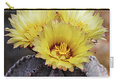 Carry-all Pouch featuring the photograph Bishop's Cap Cactus  by Saija Lehtonen